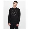 Armani Exchange CREW NECK SWEATSHIRT, Sweatshirt for Men   A X Online Store