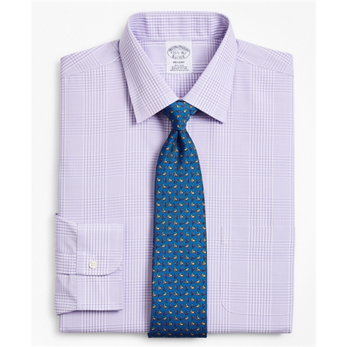 Brooksbrothers Regent Fitted Dress Shirt, Non-Iron Glen Plaid