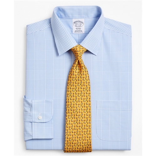 Brooksbrothers Regent Fitted Dress Shirt, Non-Iron Glen Plaid