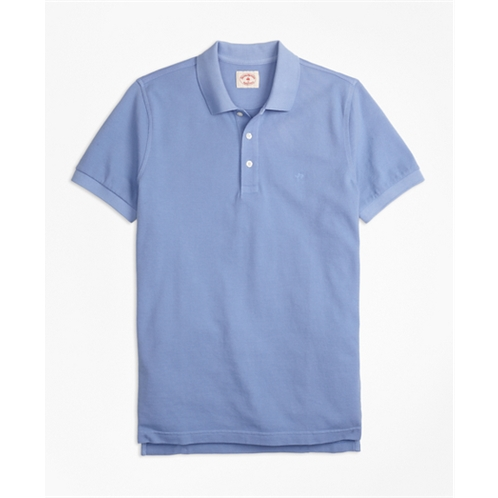 Brooksbrothers Garment-Dyed Cotton Pique Polo Shirt