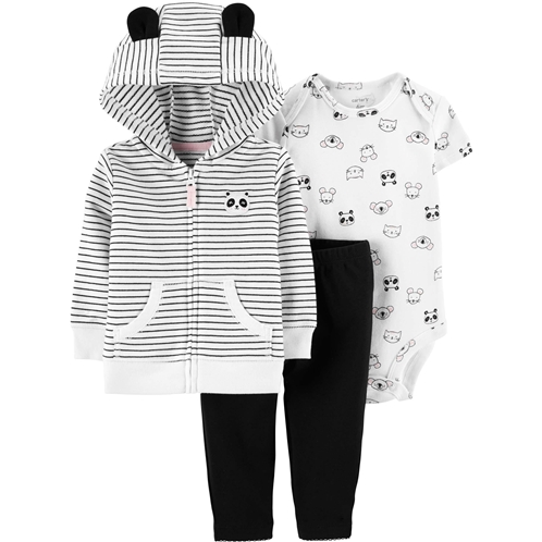 Carters 3-Piece Little Jacket Set