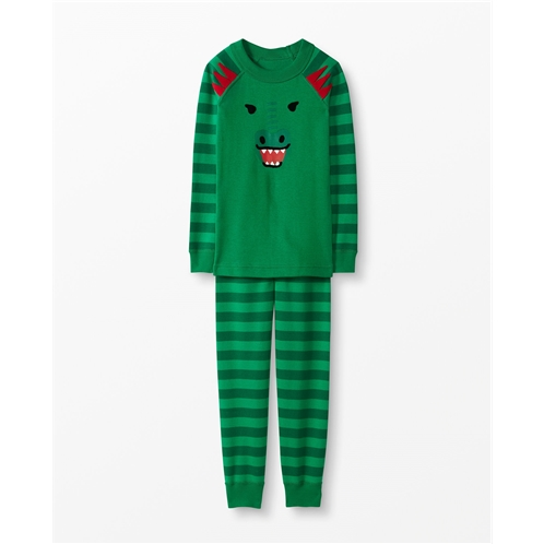 Hannaandersson Long John Pajamas In Organic Cotton
