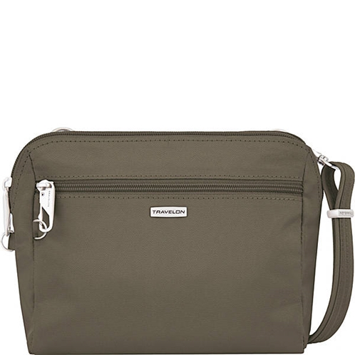 Travelon Anti-Theft Classic Convertible Crossbody and Waist Pack