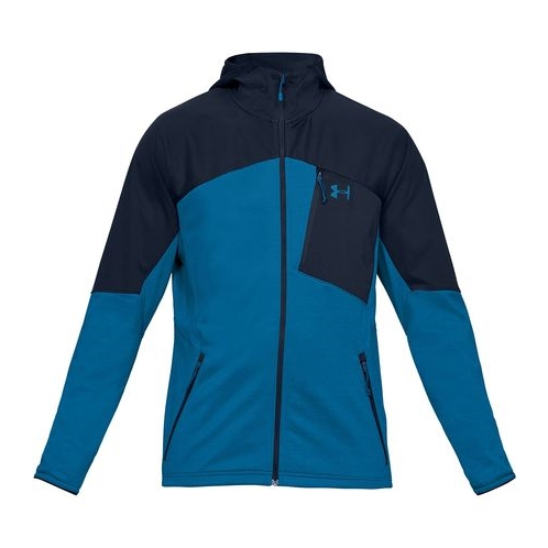 Under Armour Coldgear Reactor Hooded Fleece Jacket - Mens
