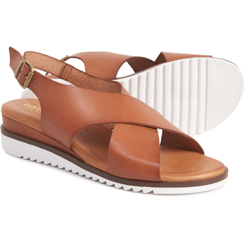 BERTUCHI Made in Spain X-Band Wedge Sandals - Leather (For Women)