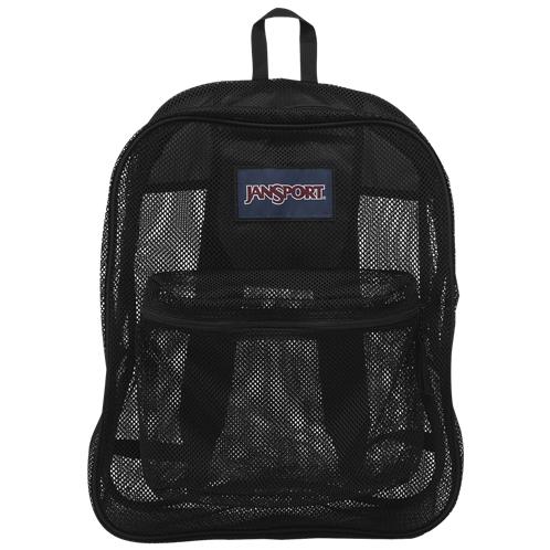 JanSport Mesh Backpack / Black