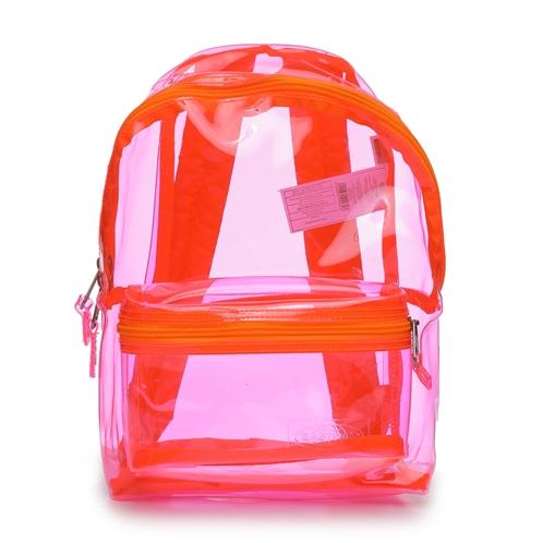 EASTPAK orbit xs fluo pink film backpack (unisex)