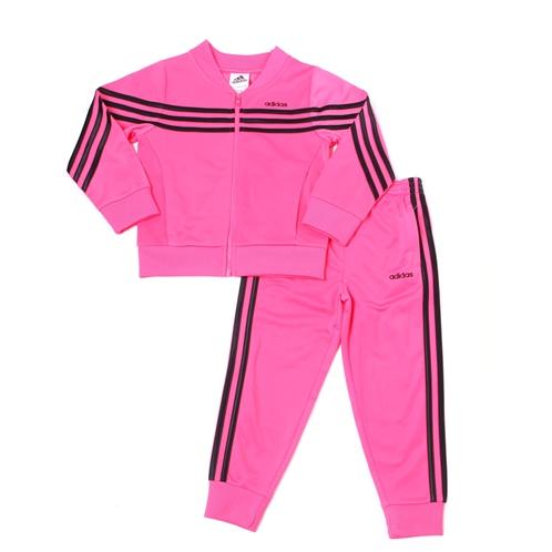 Adidas linear tricot jacket set (2t-4t)