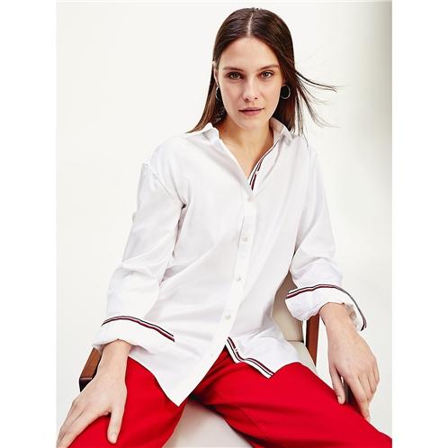 Tommy hilfiger Organic Cotton Boyfriend Shirt