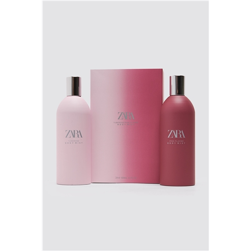 Zara TUBEROSE BODY MIST + PINK FLAMBE BODY MIST 100 ML
