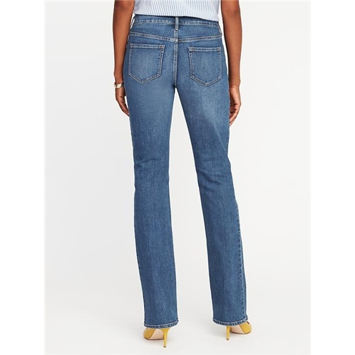 Oldnavy Mid-Rise Original Boot-Cut Jeans for Women