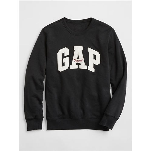 Gapfactory Embroidered Gap Logo Crewneck Pullover
