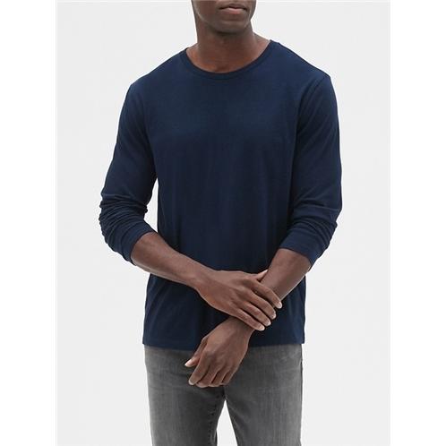 Gapfactory Long Sleeve Everyday Crewneck T-Shirt