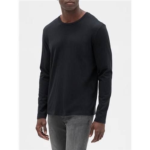 Gapfactory Long Sleeve Everyday Crewneck T-Shirt