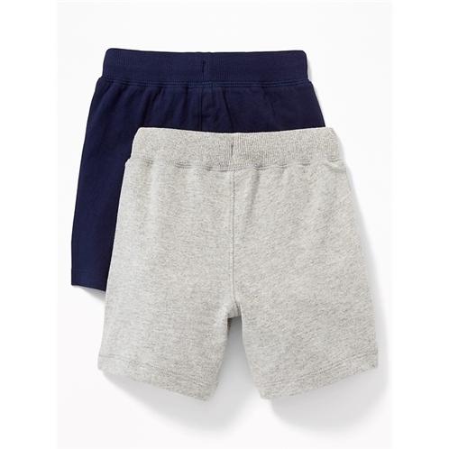 Oldnavy Functional Drawstring Jersey Shorts 2-Pack for Toddler Boys