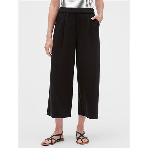 Gapfactory High Rise Wide-Leg Crop Pants
