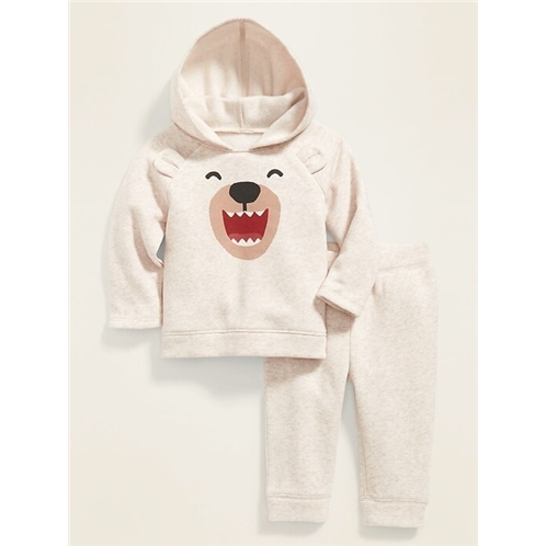 Oldnavy Critter-Graphic Pullover Hoodie & Jogger Set for Baby