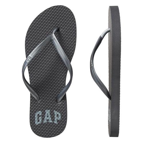 Gap Logo Flip Flops