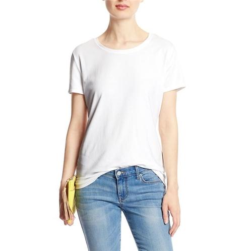 bananarepublic Timeless Crew Neck T Shirt