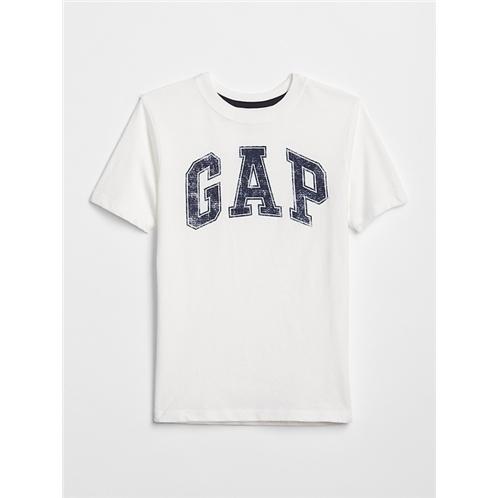 Kids Distressed Gap Logo Graphic Tee