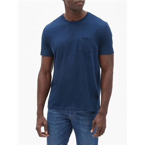 Gap Everyday Crewneck Pocket T-Shirt