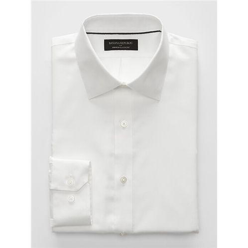 bananarepublic Classic-Fit Non-Iron White Shirt
