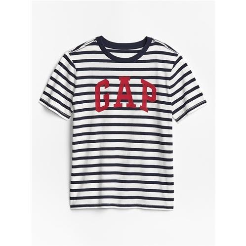 Kids Stripe Gap Logo T-Shirt In Jersey
