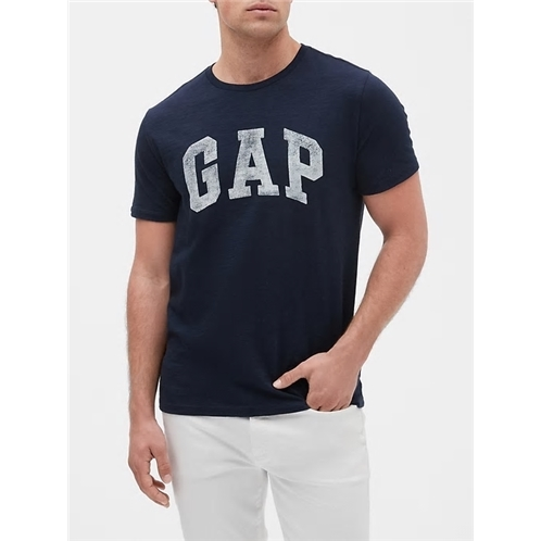 Gap Logo T-Shirt In Slub