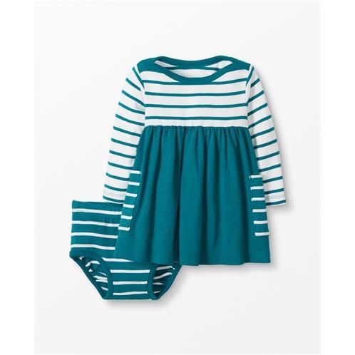 Hannaandersson Bright Basics Dress In Organic Cotton