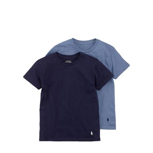 Polo Ralph Lauren Solid Cotton Crewneck 2-Pack
