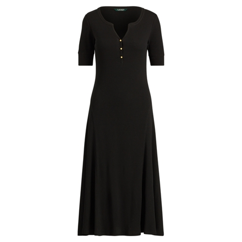 Polo Ralph Lauren Cotton Fit-and-Flare Dress