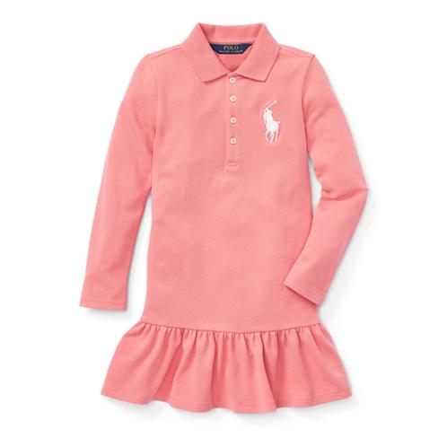 Polo Ralph Lauren Big Pony Stretch Mesh Dress