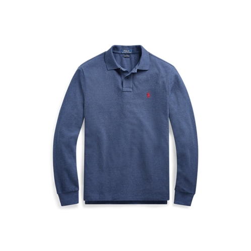 Polo Ralph Lauren Custom Slim Long-Sleeve Polo