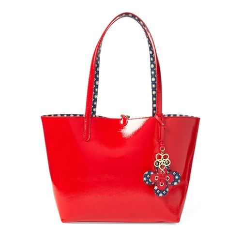 Polo Ralph Lauren Reversible Faux-Leather Tote