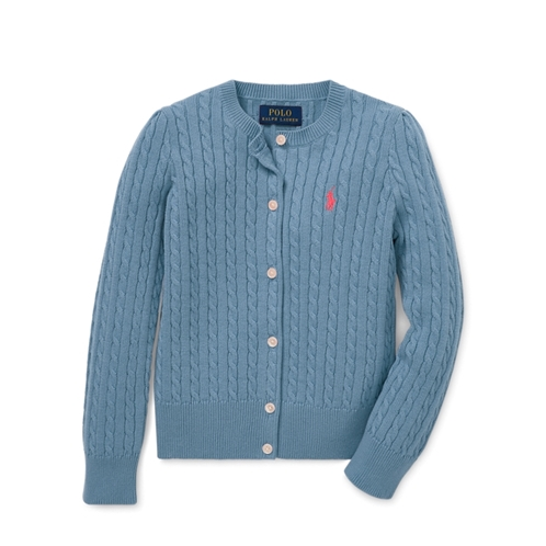 Polo Ralph Lauren Mini-Cable Cotton Cardigan