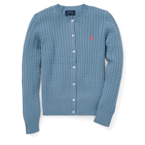 Polo Ralph Lauren Mini-Cable Cotton Cardigan