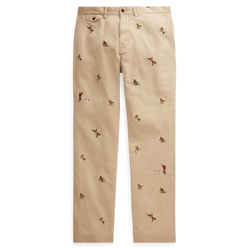 Polo Ralph Lauren Classic Fit Embroidered Chino
