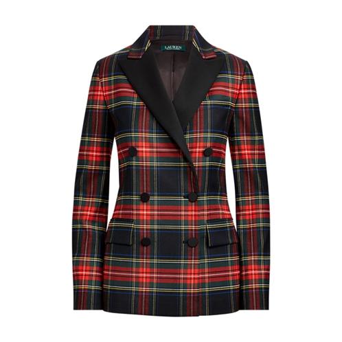 Polo Ralph Lauren Tartan Stretch Wool Blazer