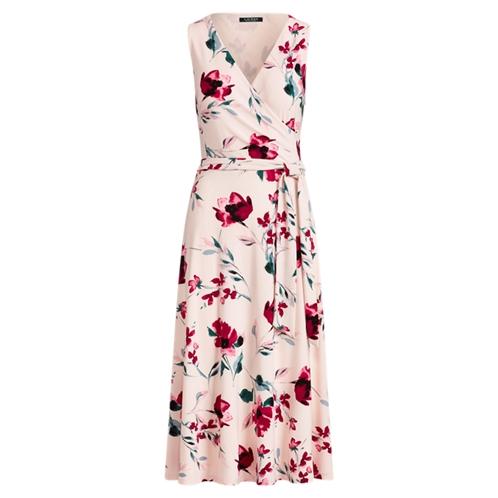 Polo Ralph Lauren Floral Surplice Jersey Dress