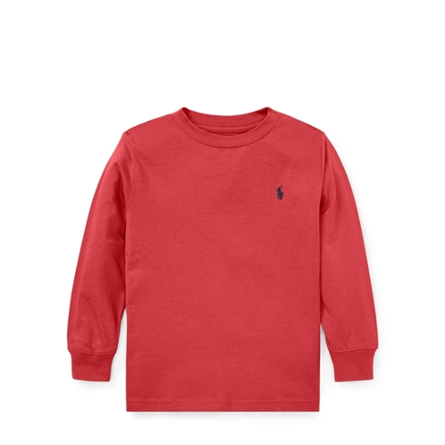 Polo Ralph Lauren Cotton Jersey Crewneck Tee