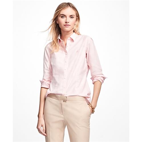 Brooksbrothers Petite Non-Iron Tailored-Fit Supima Cotton Dress Shirt