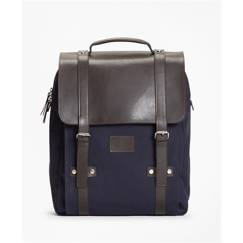 Brooksbrothers Canvas Backpack