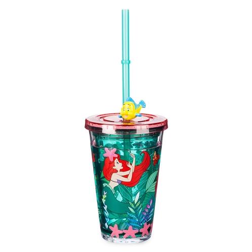 Disney Ariel Tumbler with Straw