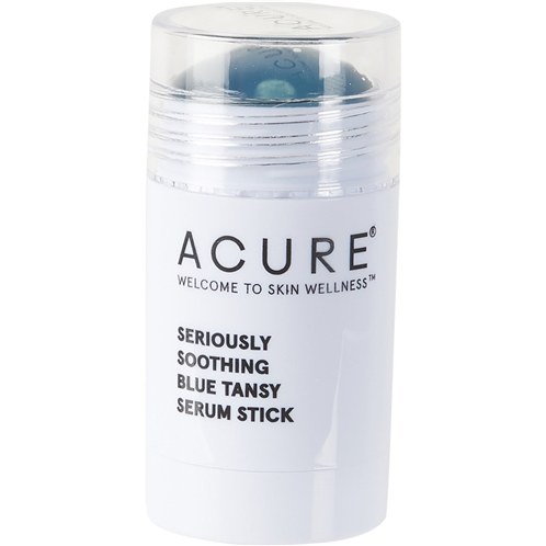 Acure Seriously Soothing Serum Stick -Blue Tansy and Hyaluronic Acid, 1 oz.