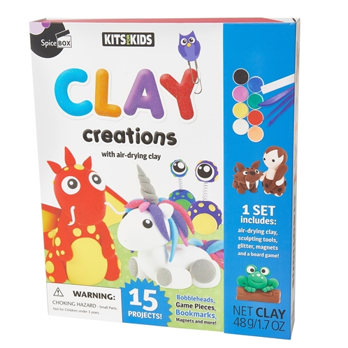 KITS FOR KIDS Clay Creations Kit