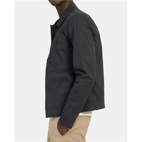 Theory Jamie Jacket In Stretch Cotton