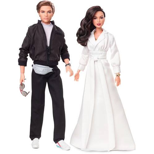 Barbie Collector Wonder Woman 1984 2-Doll Gift Set with Diana Prince Doll in Gala Gown and Steve Trevor Doll in Tracksuit, Plus Accessories and Doll Stands
