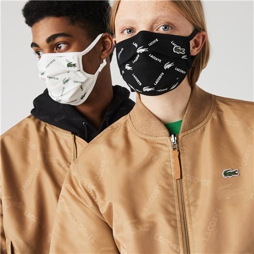 Lacoste Unisex L.12.12 Face Protection Adjustable Masks 3-Pack