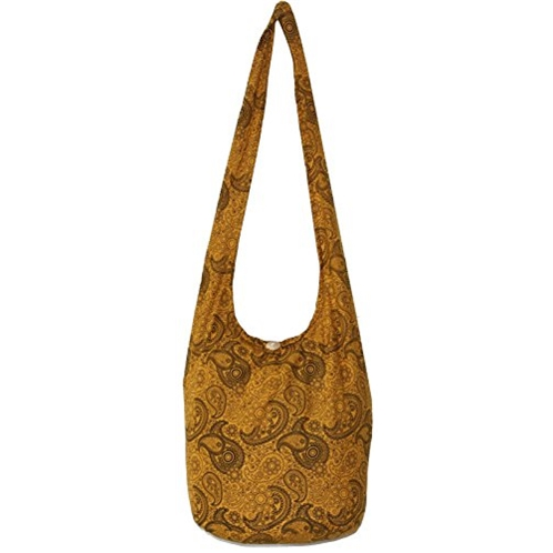 All Best Thing Paisley Bohemian Hippie Hipster Hobo Boho Crossbody Shoulder Bag