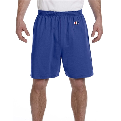 Champion Adult Cotton Gym ShortILVER Gray